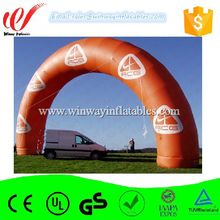 Outdoor playground PVC inflatable finish line arch hot sale Y2102