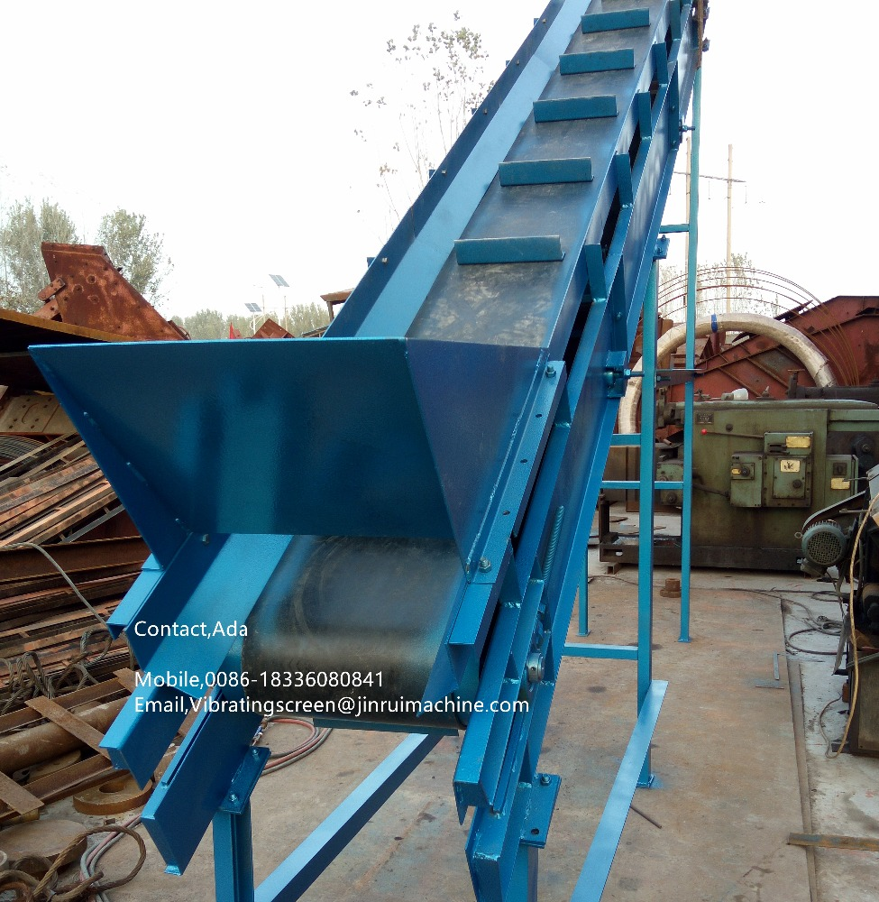30 degree wih steel flap fixed conveyor machine for oil refining equipement