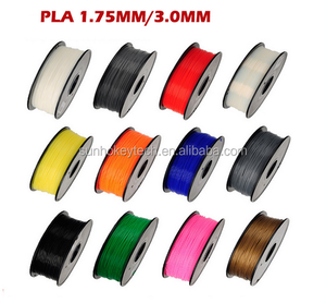 3D Printer Filament PLA Material 1.75mm/3.0mm 1KG Spool Plastic Rubber