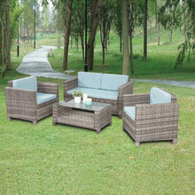 Wholesale rattan outdoor furniture cafe wicker furniture outdoor