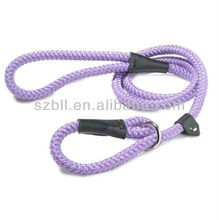 Unique Design Soft Leather OEM Dog Slip Leads