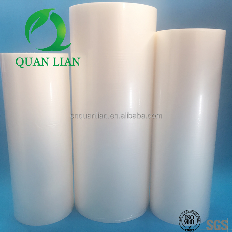 Transparent and soft1 19mic Gloss& Matt bopp lamination film food packaging use