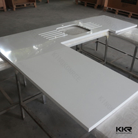 precut solid surface kitchen countertop