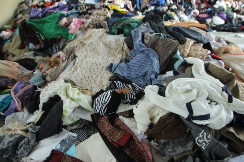 Japan used clothes, raw materials from Japan
