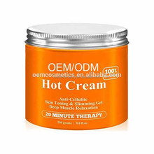 87% Organic - Anti Cellulite Treatment Hot Gel, Best Firming Skin Cream/ Reduce Cellulite Cream
