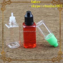 10ml ejuice oil bottle 10ml PET bottle eye drops square small containers