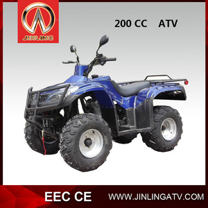JLA-24-14 200cc cheap atv quad electric racing whole sale in Dubai single cylinder