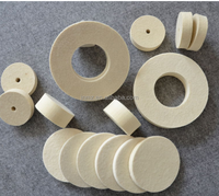 Wool felt o-ring, gaskets for sealing