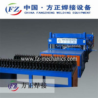 Poultry feed mesh making machine