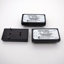 12~15W CHINFA TDD15 DC-DC Converter TDD15-05S2 Wide Input Single Dual Output ISO 9001 Certified
