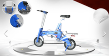 New Hidden Battery concept mini bike(L7) magnesium alloy electric mini bike with 60 patents
