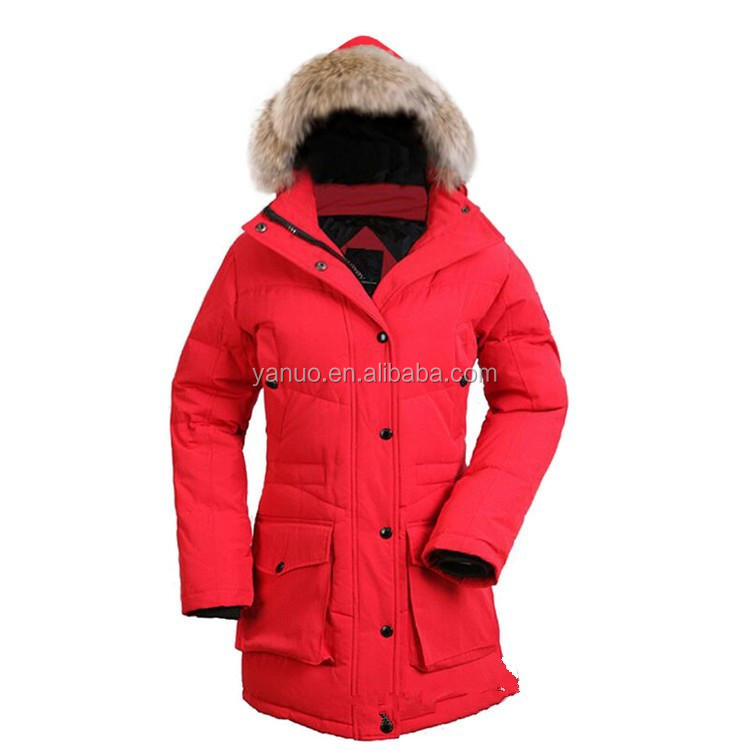 Customize insulated outdoor 2014 women winter jacket