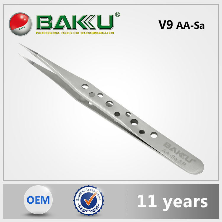 2016 new Baku Best Stainless Steel Selling Exceptional Quality Electric Tweezers For for computer repair tools