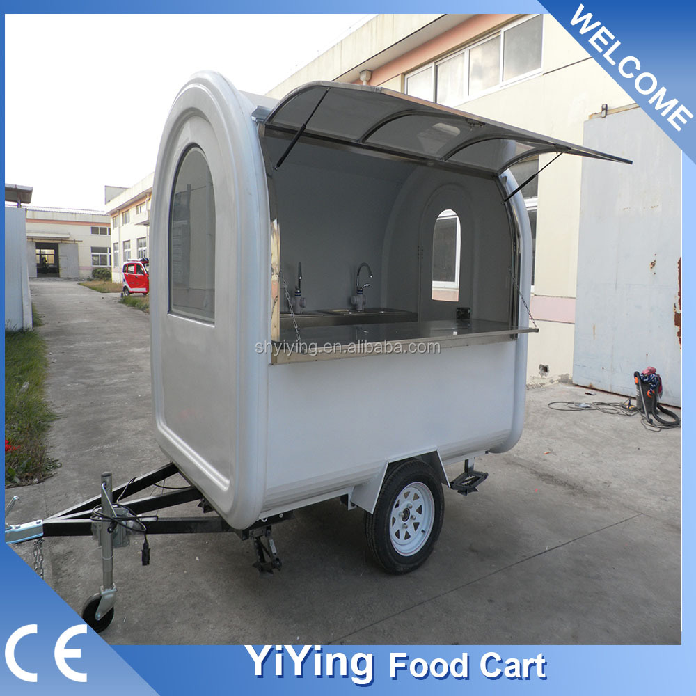 FR220B Yiying factory made brand new aluminum car chassis trailer for small car