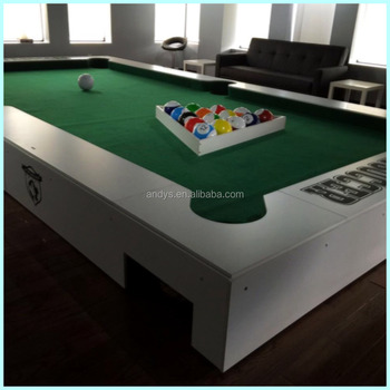 2016 new snookball table billiards equipment soccer field the third generation