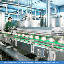 Luncheon Meat Canning Production Line / Automatic Pulp Juice Canning Machine