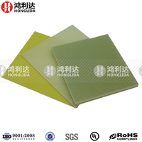 Epoxy resin board with fiberglass composition material