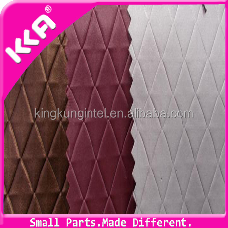 PU synthetic soft Geometry printed leather