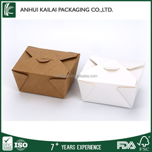 Wholesale Customized fancy disposable take away food box