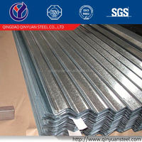 GI corrugated steel tile roofing usage design with clients logo low prices