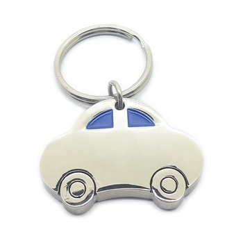 China factory promotional cheap custom metak keychain