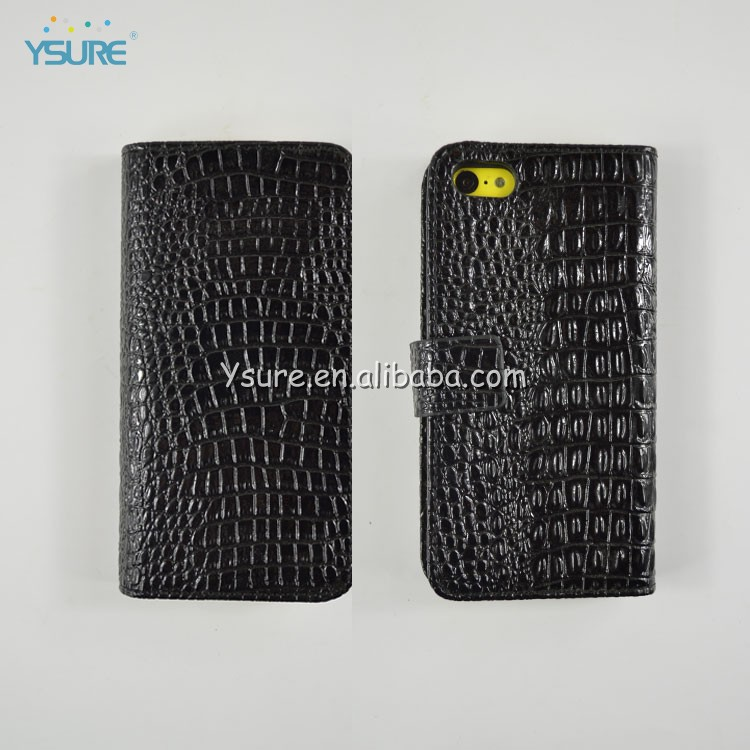 New Product High quality Leather Case for Apple iPhone 5C
