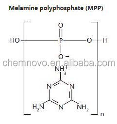 Good Qualoty Melamine Polyphosphate Environment Friendly