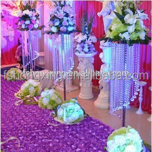 F088 hanging crystal waterfall centerpieces for wedding flower f088 hanging crystal waterfall centerpieces for wedding flower stand junglespirit Images