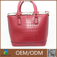 New arrived fashion leather handbag patterns free for lady
