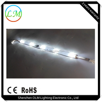 super bright side view led rigid strip15w 1000lm 500mm ip65 bar light