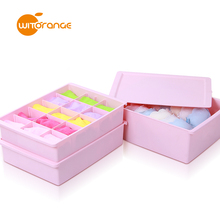 Witorange multifunctional plastic compartment storage box for putting underware,adjustable plastic utility storage box