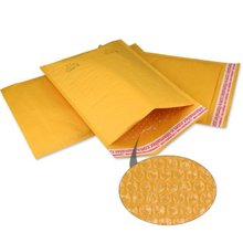 Poly Plastic Bubble Mailer Padded Envelopes with Black Color