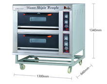 2 Decks 4 Trays Electric Bakery Arabic Bread Oven Machine Price