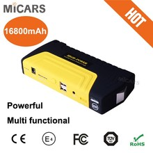 16800mAh Power Bank Car Jump Starter, Multi-function jump starter model car jump starter power bank