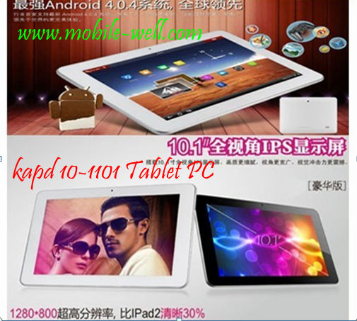 "Tablet PC Kpad10-1101 with 10.1"" Android 4.0"