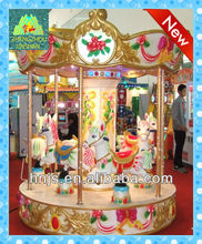 coin operated kiddie rides carousel for sale, small merry go round