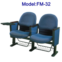 FM-32 Hot sale church chair with writing pad
