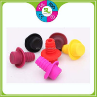 high quality silicone rubber fancy cap shape screw bottle stopper