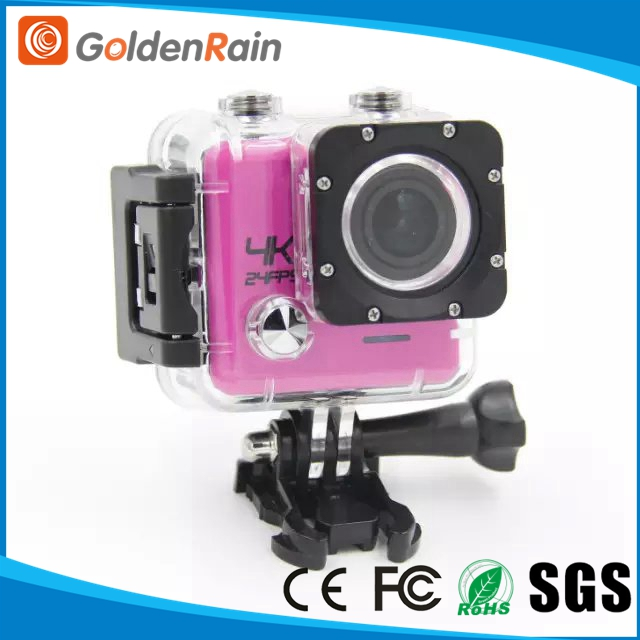 Factory Waterproof Novatek NTK 96660 MINI wifi 4k action cam