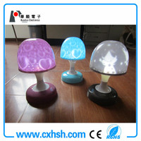 Huashun color changing led push light