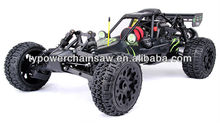 New style 1/5 scale RC car 27.5cc 4 bolt engine with walbro and NGK 275CF Baja