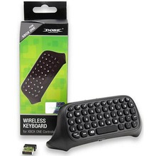 Wireless Keyboard KeyPad With 2.4G receiver For Xbox One Game Controller