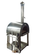 Freestanding chimney charcoal garth pizza oven