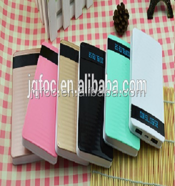 wholesale 12000mah cheap lcd power bank12000mah