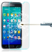 Wholesale 0.3mm2.5D 9H Round Edge Anti-Burst Tempered Glass Screen Protector for Samsung Galaxy S5 Mini G870 G800