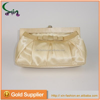New design soft bag lady evening wedding party handbag