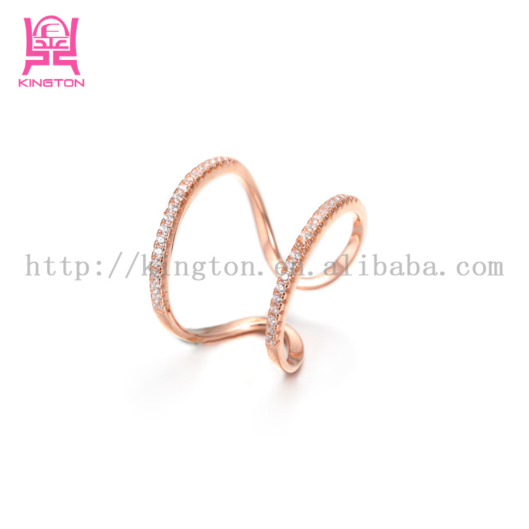 light weight gold ring gold plated jewelry