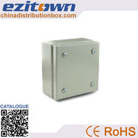 Easy to use customizable wall mounting type or desktop type optical fiber termination box
