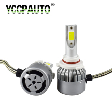 Car LED Headlight C6 Fog Light 9005 HB3 9006 H4 H1 H7 H8 H11 880 881 High Power 8000LM Auto LED Headlamp 6000k White Wholesale