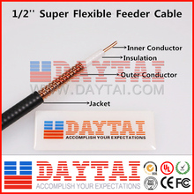 "Telecom Super Flexible Feeder Cable High Flex 1/2"" RF Feeder Cable"